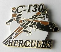 LOCKHEED HERCULES C-130 USAF AIR FORCE AIRCRAFT LAPEL PIN BADGE 1.5 INCHES