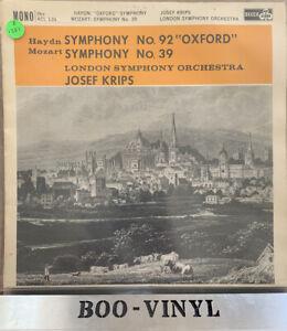 DECCA ACL 135 - HAYDN SYMPHONY NO 92 OXFORD CLASSICAL VINYL RECORD EX