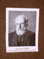 Alexandre Félix Joseph Ribot Saint-Omer 7 febbraio 1842 – Parigi 13 gennaio 1923