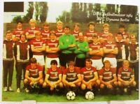 BFC Dynamo Berlin + DDR Fußball Meister 1984 + Fan Big Card Edition E9 +