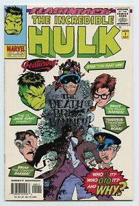 Flashback The Incredible Hulk -1 Marvel Comics 1997 FN/VF