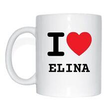 I love ELINA Tasse Kaffeetasse
