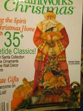 A Paint Works Christmas Holiday 2009 Magazine-Santas/Partridge/Raccoon/Sceneries