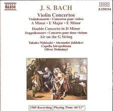 J.S. Bach - Violin Concertos · Double Concerto / Takako Nishizaki