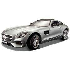 Maisto Mercedes-benz AMG GT Silver 1 24 Diecast Model Car