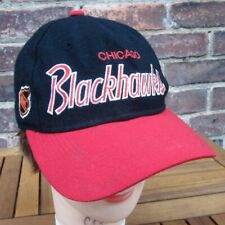 CHICAGO BLACKHAWKS baseball hat Sports Specialties hockey 1980s wool cap NHL