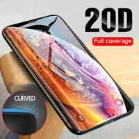 20D Curved Full Coverage Tempered Glass Screen Protector For Apple iPhone X Xs