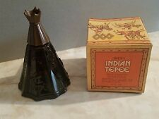 Avon Vintage Indian Tepee Bottle Wild Country 4 oz Full Bottle with Box