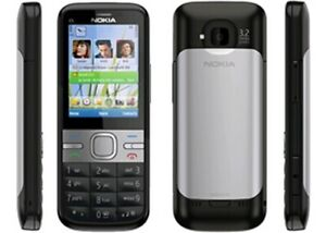 CHEAP NOKIA C5-00 SIMPLE 3G MOBILE PHONE-UNLOCKED WITH NEW CHARGAR AND WARRANTY
