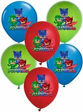 "12"" PJ MASKS CATBOY OWLETTE GEKKO Superhero  Latex Party Balloon Decoration"