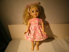 "2014 15"" Brinley Lotus Onda Bumbleberry Girl Doll Original Dress + Other Clothes"