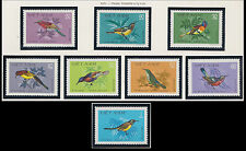 VIETNAM N°289/296** Oiseaux 1981, Vietnam 1132-1139 Nectar-sucking Birds MNH