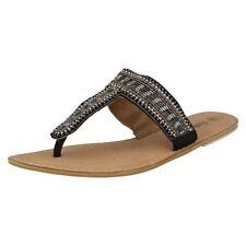 Unbranded Leather Flip Flops Slip On Shoes for Women
