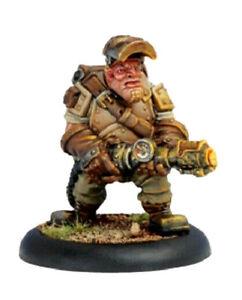 Warmachine Mercenaries - - THOR STEINHAMMER - - Rhulic Mechanik Privateer Press