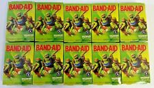 Lot of 10 Boxes - Teenage Mutant Ninja Turtles Band-Aids, 20 Per Box, Asst Sizes