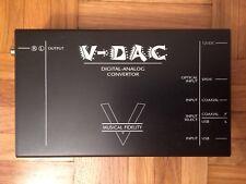 V-DAC Musical Fidelity / Digital Analog Convertor / Convertisseur Audio