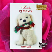 Hallmark Ornament, 2013 Golden Doodle, Puppy Love, Looks New