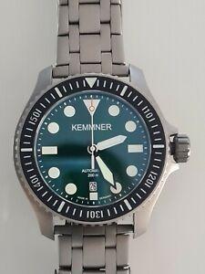 Kemmner - Titan -Sapphire - Automatik ETA 2824-2 - Taucheruhr - 20 ATM