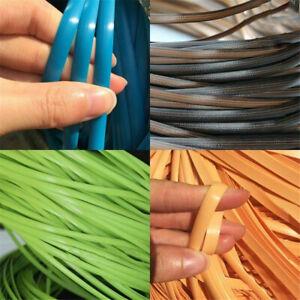 70M flaches synthetisches Rattan-Steigungs-Webmaterial für Stuhlreparatur
