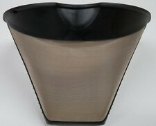 #4 Cone Shaped Permanent Coffee Filter with Finger Grips