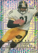 2000 Collectors Edge Masters Troy Edwards #/2000 Pittsburgh Steelers Louisiana