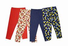 NEW! MYKA GIRL'S LEGGINGS SET - PACK OF 4 (SIZE 10-14Y)