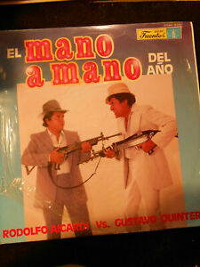 Titolo E Artista Album  -     EL MANO A MANO DEL ANO - RODOFO AICARDI