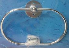 "960 mm x 500 mm /""Reine/"" Ovale Blanc Tube Designer Slimline Radiateur 2687 BTU"