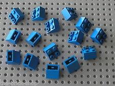 15 pieces LEGO Blue Slope Brick 3660 / Set 10177 10189 712 371 163 497 928 6950
