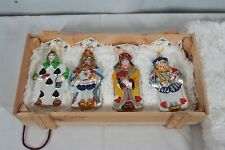 "Polonaise ""Royal Suite"" From ""Alice In Wonderland"" Gp552 Glass Ornaments Box Set"