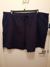 Elastic Waist Shorts With Drawstring Size 3x