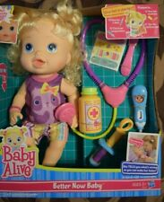Baby Alive, Better Now Baby, NIB, Baby Doll, Hasbro, Rare, Mint, Doctor, Blonde