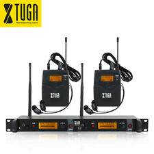 Wireless In Ear Monitor System IEM1200 2 Channel 2 Bodypack for stage Monitoring