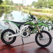 1:12 Scale MAISTO Model Kawasaki KX 450F Racing Moto Diecast Motorcycles Toys