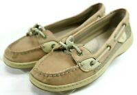 Sperry Top Sider Angelfish $90 Women's Boat Shoes Size 7.5 Leather Tan