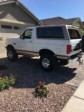 1996 Ford Bronco Beige Leather