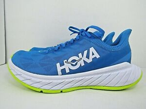 MEN'S HOKA ONE CARBON X 2 size 11 (29 JPN) !!RUNNING SHOES ! WORN AROUND 5 MILES