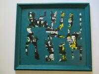 SAMUEL TSS  PAINTING ABSTRACT EXPRESSIONISM BRUTALIST MODERNISM CONTEMPORARY