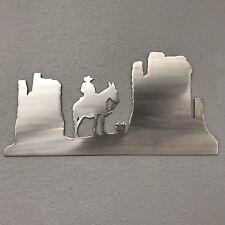 Badlands Aluminum Metal Wall Art Skilwerx 14 x 7 w Western 2