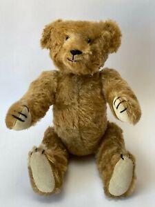 """Vintage 1980's OOAK 13"""" STEARNSY BEAR Mohair Handmade Artist Bear"""