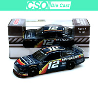 Ryan Blaney 2020 Menards Darlington Throwback 1/64 Die Cast IN STOCK