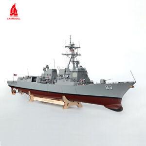 Arkmodel 1/96 Arleigh Burke Class Missiles Destroyers US Navy IIA DDG93 War Ship