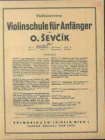 O. SEVCIK - Violinschule für Anfänger Heft 2