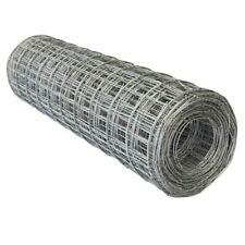 100m Roll 100x100mm Holes Galvanised Wire Mesh Dog Animal Fence Farm Steel Mesh