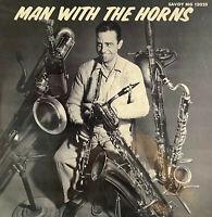 RARE JAZZ LP BOYD RAEBURN MAN WITH THE HORNS VOLUME 1 OF US SAVOY MG-12025