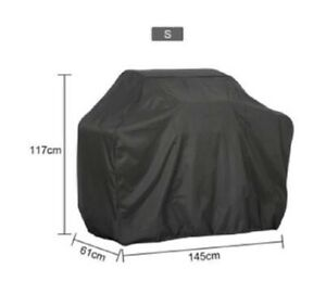 High Quality Mid Size BBQ Cover145x117x61cm Weather Resistant NEW outdoor party