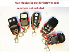 Garage Gate Remote Clip Wall Mount Bracket  Bnd PTX4 Merlin Boss B&D Avanti ECA