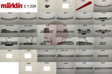Z 1:220 Märklin mini-club scale Second-hand rails model railroad hobby tracks