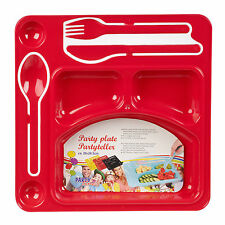 Kinder Kochen und Essen Sets in Rot