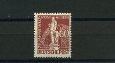Berlin 60 Pfg. von Stephan UPU 1949** Plattenfehler Michel 39 I geprüft (S10082)
